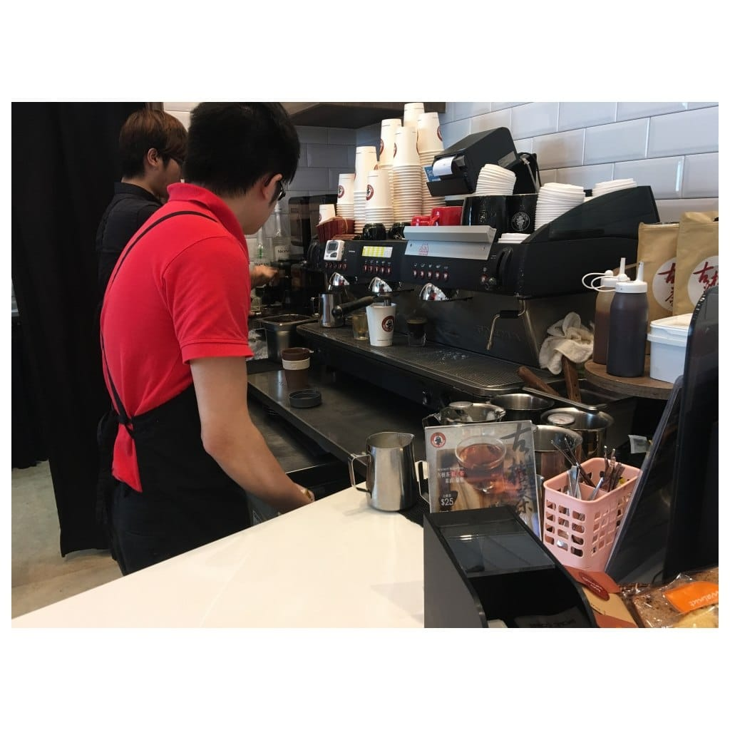 Barista in China