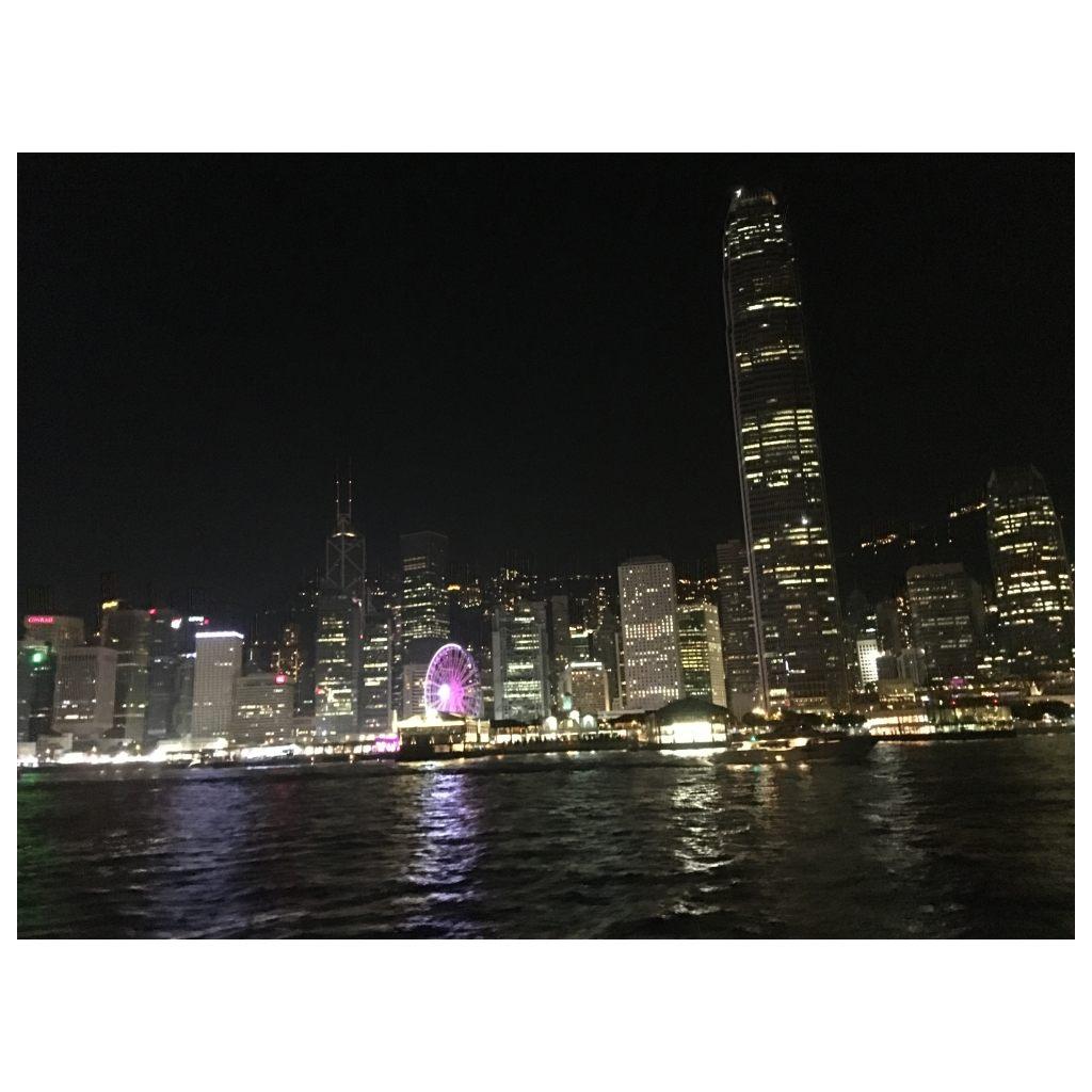 Honk Kong at night