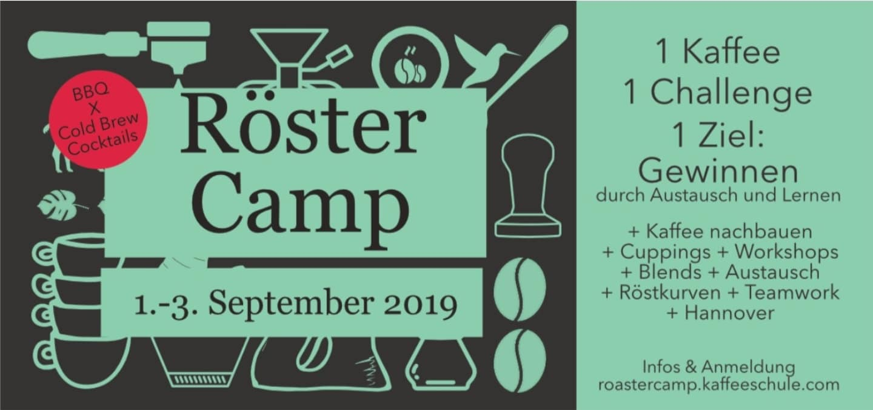 Erstes deutsches Röster-Camp in Hannover